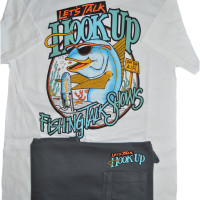 Hookup T-Shirt Classic Design in White or Dark Grey